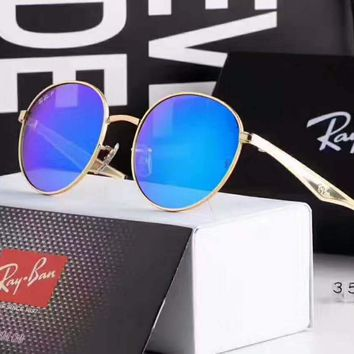 Ray-Ban Couples with color film polarizing sunglasses H-A-SDYJ