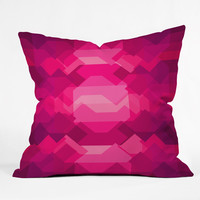 Budi Kwan Ruby Throw Pillow