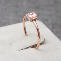 Dainty Promise Wedding Ring