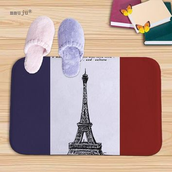 Autumn Fall welcome door mat doormat Homing New Arrive s for Entrance floor kitchen carpets Scenic Paris Pattern Living Room Dust Proof Mats Home Decor rugs AT_76_7