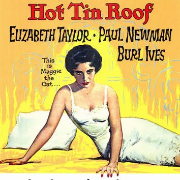 Cat On a Hot Tin Roof 11x17 Movie Poster (1958)