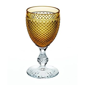 Bicos Bicolor Goblet with Amber Top