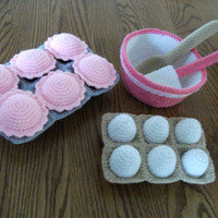 Cupcake Baking Set by beccabeargirl on Etsy