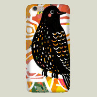Black Bird iPhone case by yetzenialeiva on BoomBoomPrints