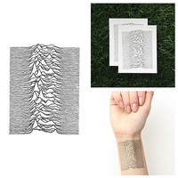 The Great Unknown - Temporary Tattoo (Set of 2)