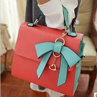 Korea dimensional bow handbag from Fashion Accessories Store