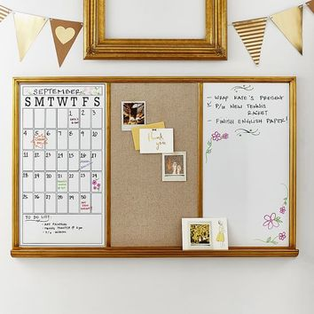 Study Wall Board, Gold Triple