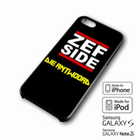 Zef Side iPhone case 4/4s, 5S, 5C, 6, 6 +, Samsung Galaxy case S3, S4, S5, Galaxy Note Case 2,3,4, iPod Touch case 4th, 5th, HTC One Case M7/M8