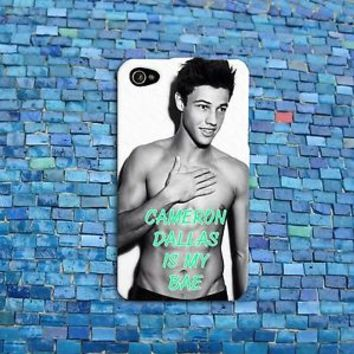 Cameron Dallas is my Bae Cute iPod Rubber Phone Case iPhone 4 4s 5 5s 5c 6 Cover