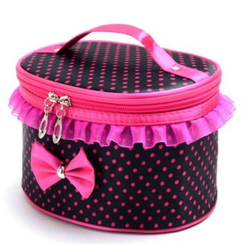 Hot Travel Kit Set Girls waterproof portable toiletry bag women cosmetic organizer pouch Hanging Swimming bags Pouch Jan19ZYP
