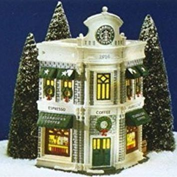 Dept 56 STARBUCKS COFFEE #54859 The Original Snow Village