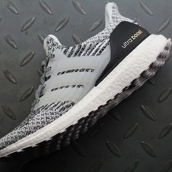 Adidas Ultra Boost UB 3 S80636 Women Men Fashion Trending Running Sneakers Grey