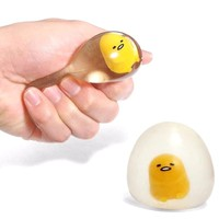Gudetama Lazy Egg Squishy Anti Stress Toy Ball Autism Antistress Clear Water Pinch Mascot Squish Vent Toy