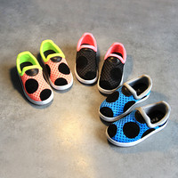 Comfort Hot Deal Stylish Hot Sale On Sale Casual Summer Children Permeable Korean Shoes Sneakers [4919713732]