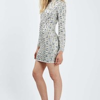 Limited Edition Sequin Embellished Mini Dress - Dresses - Clothing