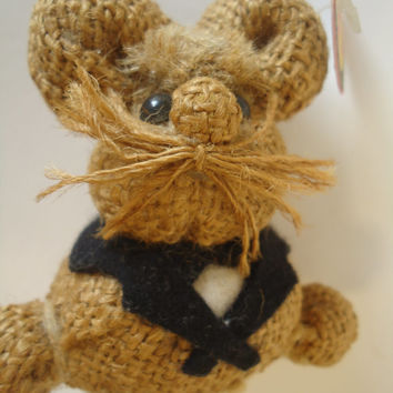 Jute Baby  Mouse Hungary Ungarn Hand Made