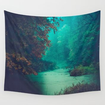 Sanctuary Wall Tapestry by Faded  Photos
