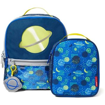 Skip Hop Forget Me Not Kids Backpack and Lunch Bag set