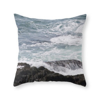 Society6 Ocean Throw Pillow