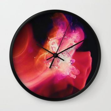 Baby, Hold on to me Wall Clock by duckyb