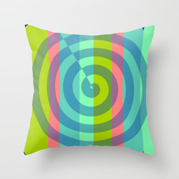 zappwaits satisfaction Throw Pillow by netzauge