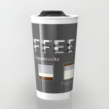 International Coffee Travel Mug by Laura Santeler