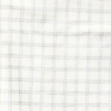 Changing Pad Cover | Stuart's Denim & Silver Check Crib Bedding