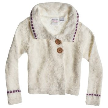 Roxy - Girls 2-6 Pebble Sweater