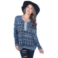 Good To Yourself Knit Sweater