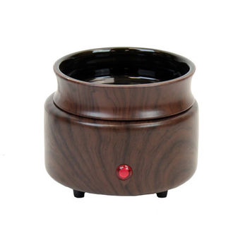 Ceramic Wood Looking Candle / Tart Warmer