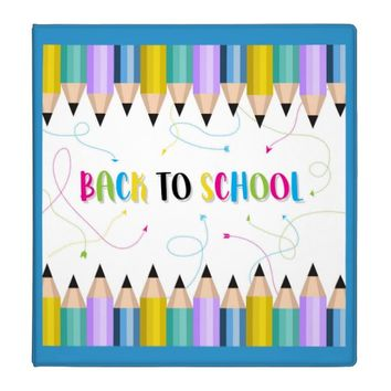 Back To School 3 Ring Binder