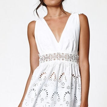 Kendall & Kylie Embroidered Crochet Tunic at PacSun.com