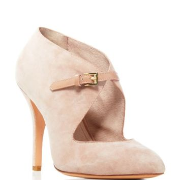 Pour La Victoire Zeigler Suede Pointed Pumps - Bloomingdale's Exclusive | Bloomingdales's
