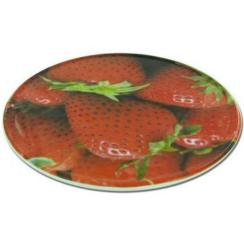 Round Trivet with Strawberry Design ( Case of 24 )