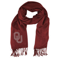 Oklahoma Sooners NCAA Pashi Fan Scarf (Dark Red)