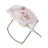 Fisher-Price My Little Sweetie Deluxe Newborn Rock 'n Play Sleeper with Vibration
