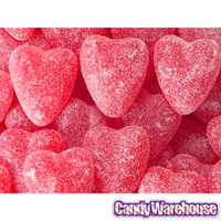 Cinnamon Jelly Candy Hearts: 14-Ounce Bag