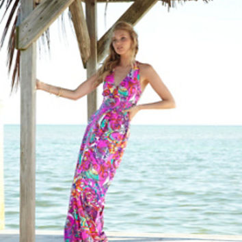 Parrish Halter Maxi Dress - Lilly Pulitzer