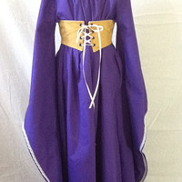 Girls Medieval Dress- Made to order