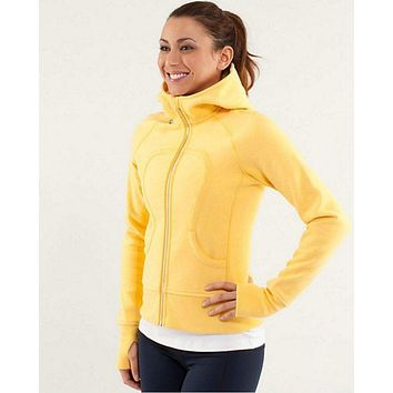 DCCKFC8 Lululemon Scuba Hoodie Yoga Run Fitness Jacket Sweater
