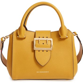 Burberry Small Calfskin Leather Tote | Nordstrom