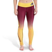 Cleveland Cavaliers Womens Official NBA Gradient Print Leggings