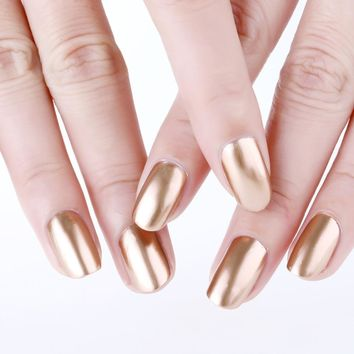Hot Sale Mirror Nail Polish Plating Silver Paste Metal Color Stainless Steel Mirror Silver Nail Polish for Nail Art Nails Beauty