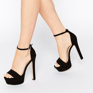 ASOS HICKORY Heeled Sandals at asos.com