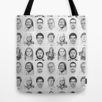 Workaholics Portrait Series Tote Bag by Olechka