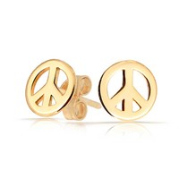 Bling Jewelry Promote Peace Studs