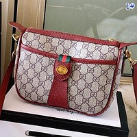 GUCCI New fashion more letter leather shoulder bag women crossbody bag 1#