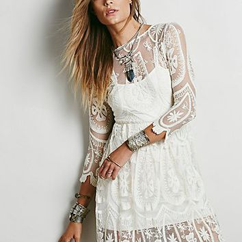 Jen s Pirate Booty for Free People Womens Teardrop Pixie Dress