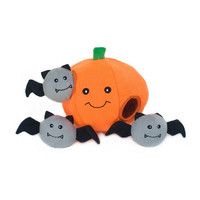 Pumpkin + Bats Burrow Toy