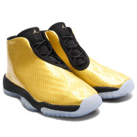 Air Jordan Future GS (Gold Coin/Black) - Gold